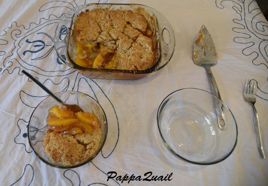 peach-cobler-being-served